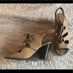 Franco Sarto, Lace-up Heels, Sz 8M